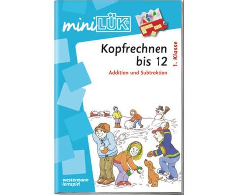 miniLUEK-Heft Kopfrechnen 1-1