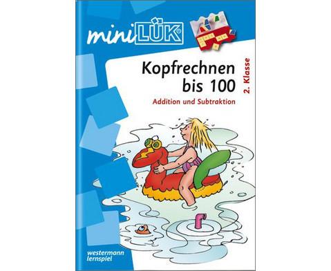 miniLUEK-Heft Kopfrechnen 3-1