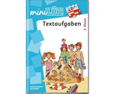 miniLUEK-Heft Textaufgaben ab 2 Klasse