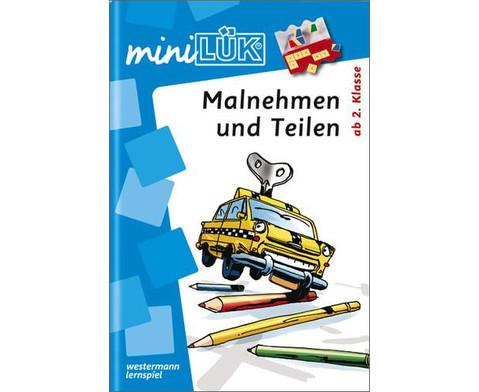 miniLUEK-Heft Malnehmen und Teilen-1