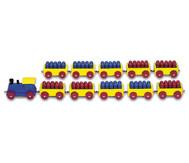 100er Ri-Ra-Rechenzug (rot/blau)