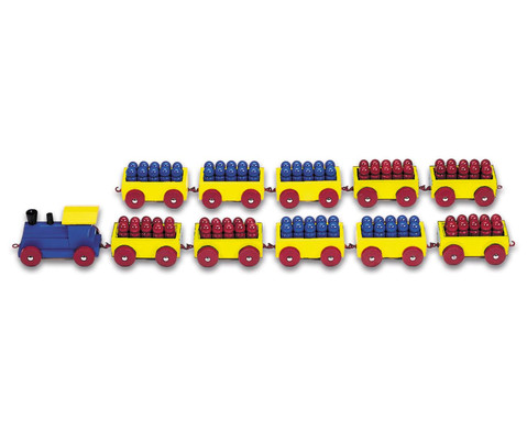 Betzold 100er-Ri-Ra-Rechenzug rot-blau
