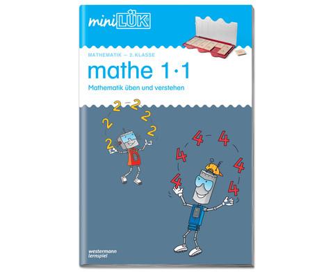 miniLUEK Heft mathe 1 x 1