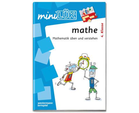 miniLUEK-Heft Mathe 4-1
