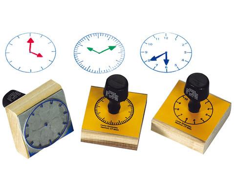 Uhrenstempelsatz 3-teilig