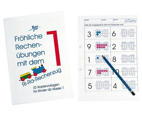 Kopiervorlagen: Fröhliche Übungen mit dem Ri-Ra-Rechenzug - betzold.de