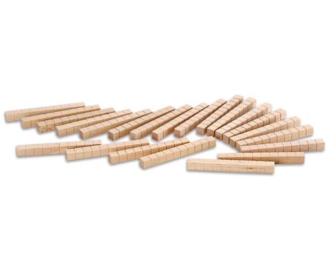Zehnersystem -Teile aus Holz-6