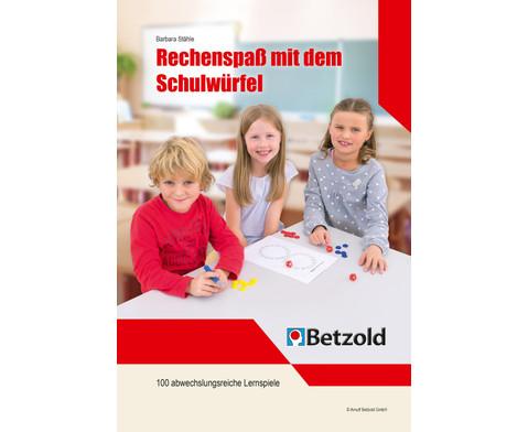 Buch Rechenspass mit dem Schulwuerfel