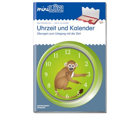 miniLUEK Heft Uhr und Kalender