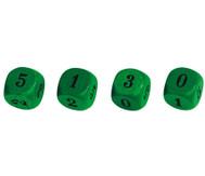 Lernwürfel Zahlenraum 0-5, 10 Stück