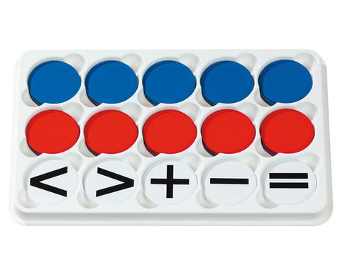 Sortierkasten mit 100 Wendeplaettchen magnetisch-2