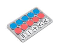 Sortierkasten mit 100 Wendeplättchen (magnetisch)