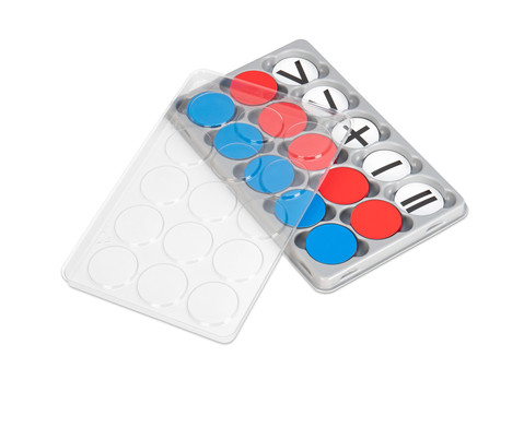 Sortierkasten mit 100 Wendeplaettchen magnetisch-3