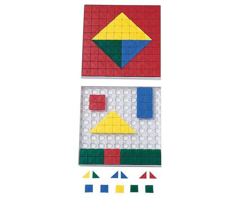 Steckplaettchen  200 St  in 5 Farben-1