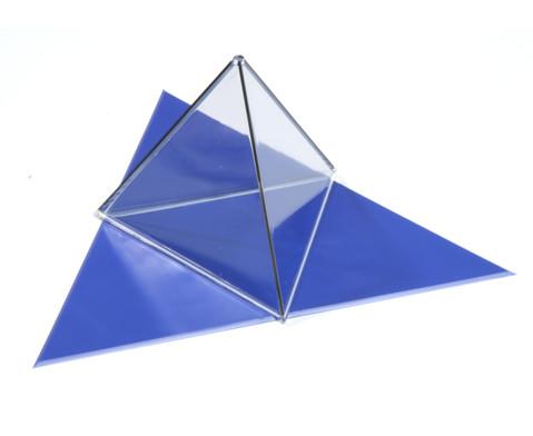 Geometriekoerper im Kunststoffkoffer 9 Stueck-2