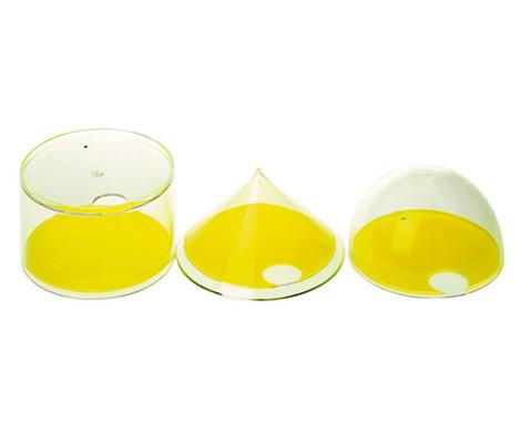 Halbkugel Zylinder und Kegel-1