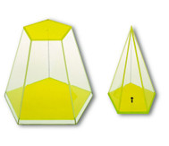Fünfseitige Pyramide