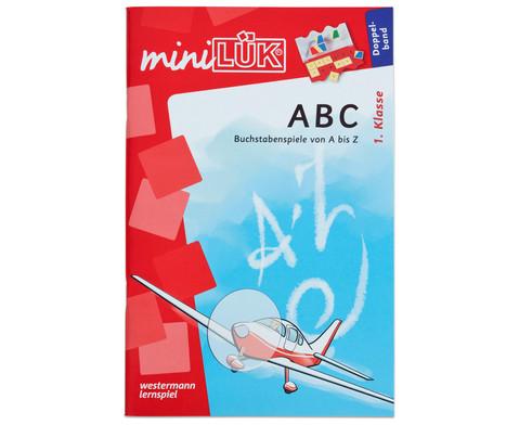miniLUEK ABC Doppelband Buchstabenspiele von A-Z