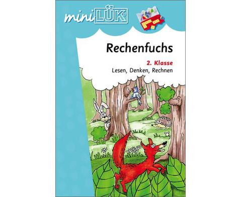 miniLUEK-Heft Der Rechenfuchs 2-1