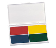 Farbstempelkissen, 4 Stück