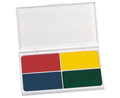 Stempelkissen 4-farbig