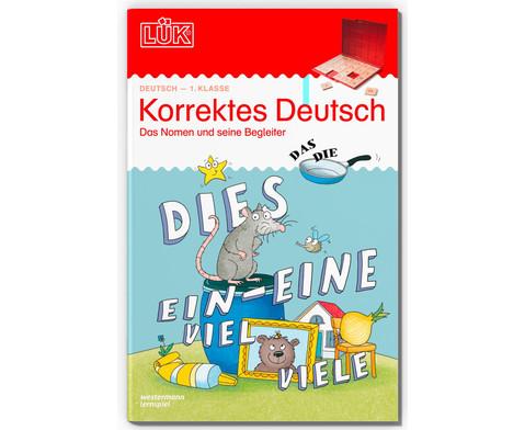 LUEK Korrektes Deutsch 1-1