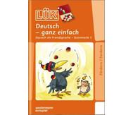 LÜK Deutsch ganz einfach 4