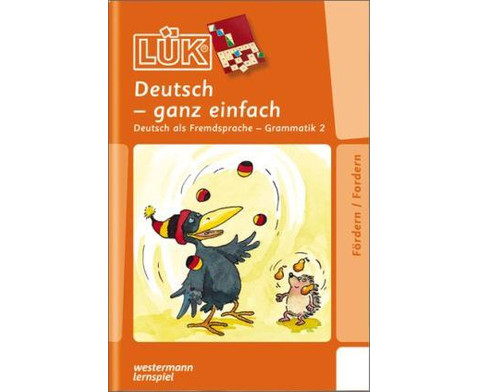 LUEK Deutsch-ganz einfach fuer 1- 8 Klasse