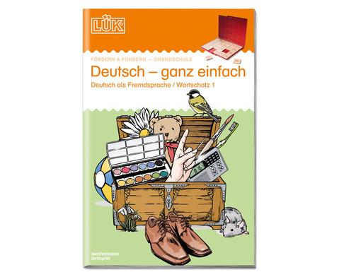 LUEK Deutsch ganz einfach 1-1