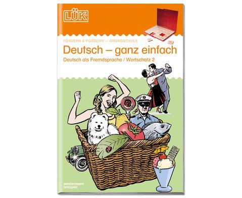 LUEK Deutsch - ganz einfach fuer 1- 4 Klasse