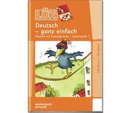 LÜK: Deutsch - ganz einfach für 1.- 8. Klasse
