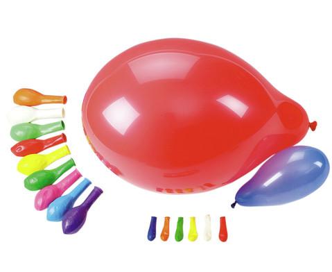 100 Luftballons in versch Farben