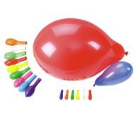 Luftballons, 100 Stück in versch. Farben