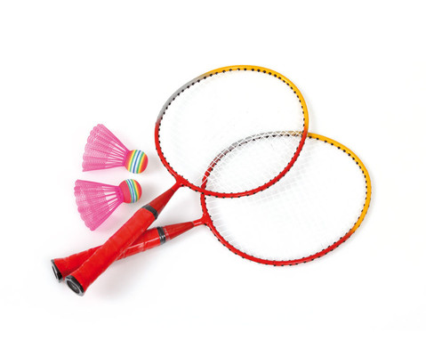 Badminton Set fuer Kinder