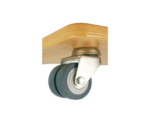 edumero Multi Rollbrett Ausführung mit Doppel Lenkrollen