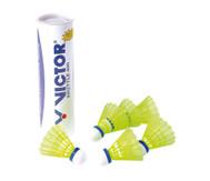 Dose mit 6 Badminton-Trainingsbällen Victor Shuttle 400