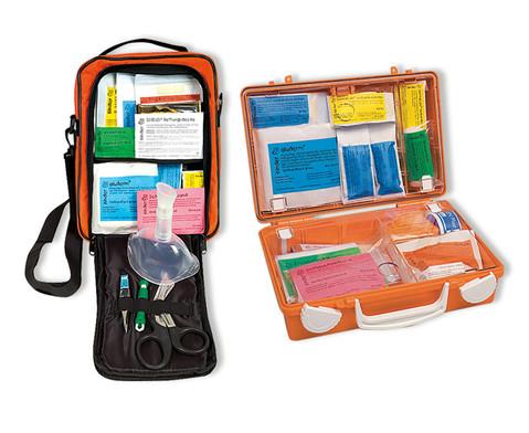 Erste-Hilfe-Sparpaket Koffer und Tasche