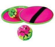 Stick-Ball-Set: 2 Handteller, 1 Stick-Saugnapfball