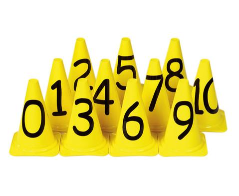 Zahlenkegel von 0 - 10-1