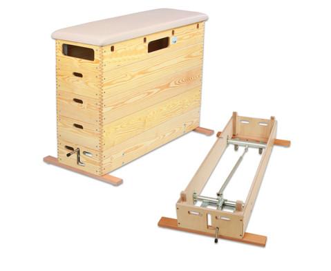 Sprungkasten mit Schwenkrollen-Unterbau-3