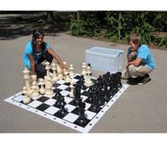 Jumbo Schach, für drinnen und draußen