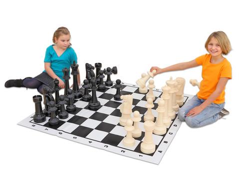Jumbo Schach fuer drinnen und draussen
