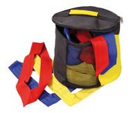 30 Mannschaftsbänder Juniorgröße in Tasche