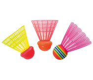 Speed-Badminton Ballset mit 3 Bällen