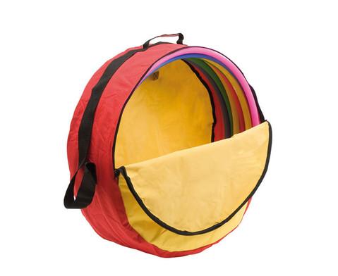 Betzold Sport Reifentasche gefuellt mit kleinen Reifen 10 Stueck