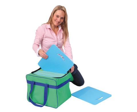 Tasche fuer Sitzkissen und Teppichfliesen