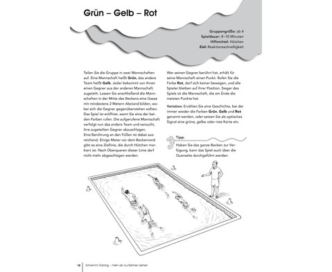 Schwimm-Training Buch-3