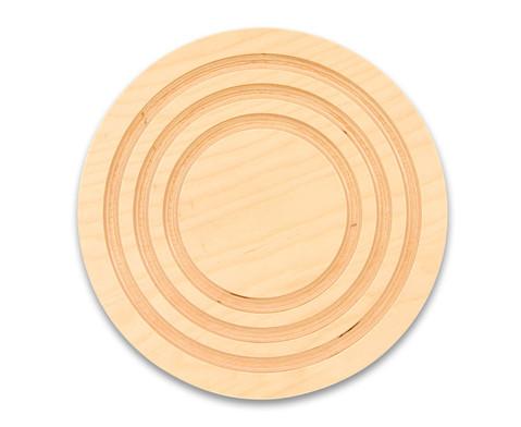 Balancier-Kreisel aus Holz-1
