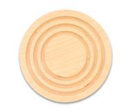 Balancier-Kreisel aus Holz
