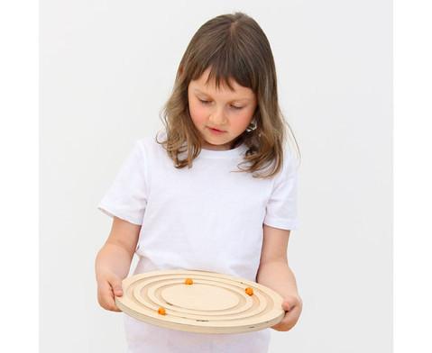 Balancier-Kreisel aus Holz-6